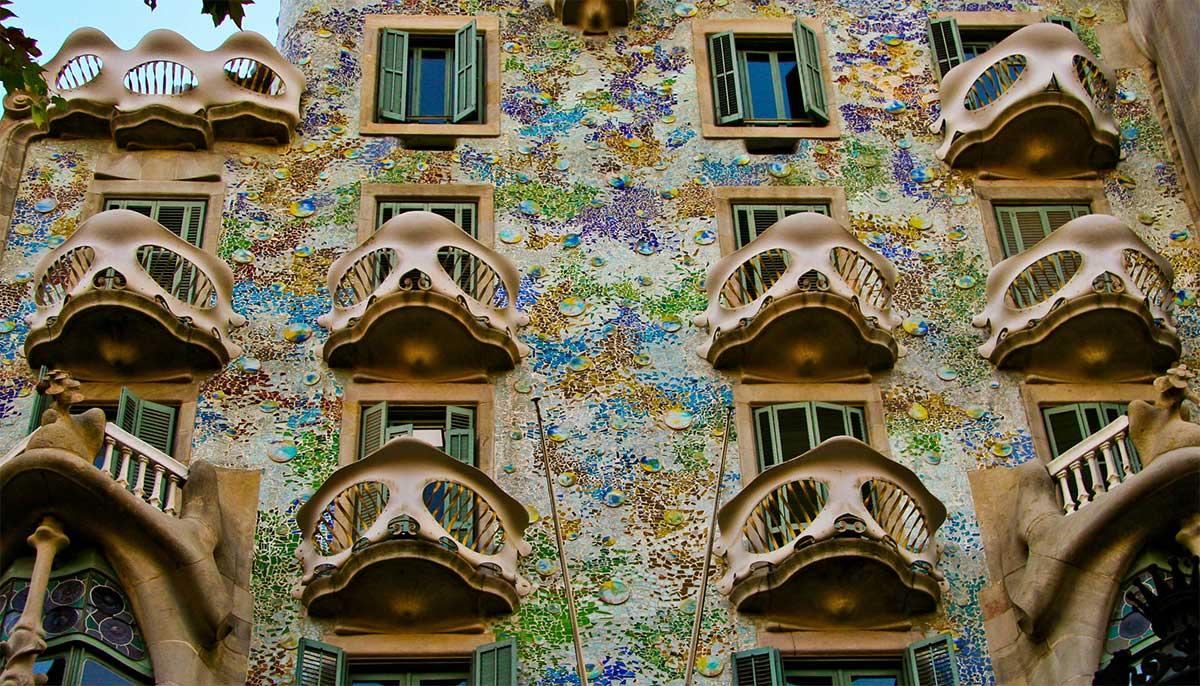 Casa Batllo from Barcelona - Fatada